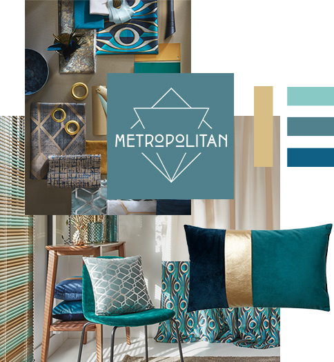 Décoration Metropolitan