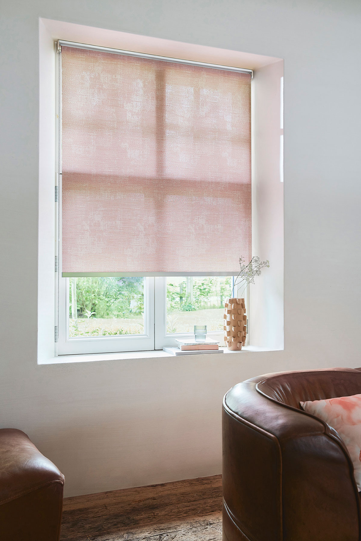 Store enrouleur pink Summer Haze ATENS CORAIL